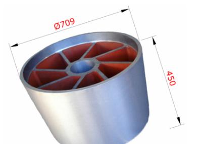 Rotorová hvězdice pro elektromotor ventilátoru chladírenských věží