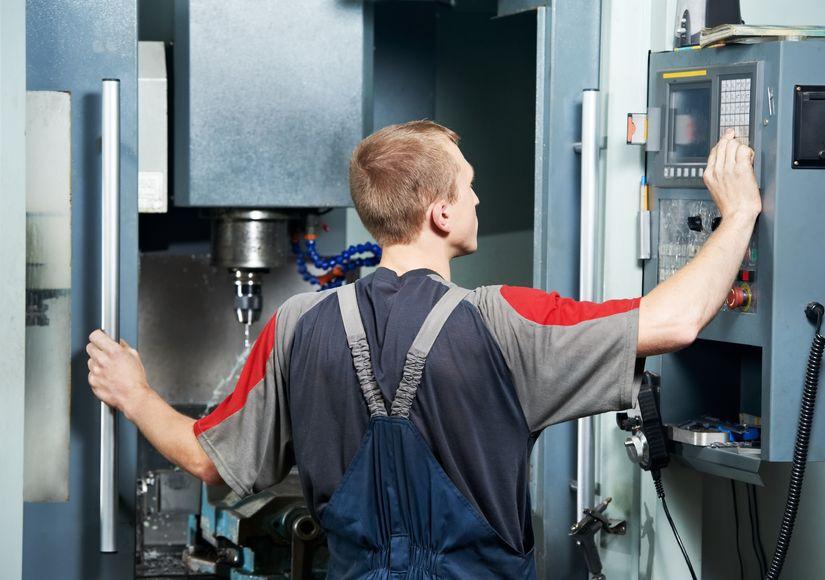 Obsluha CNC svislého soustruhu