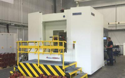 Seřizovač/obsluha na nové CNC horizontální centrum
