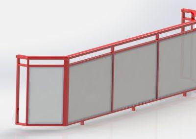 Lodžiové balkonové zábradlí
